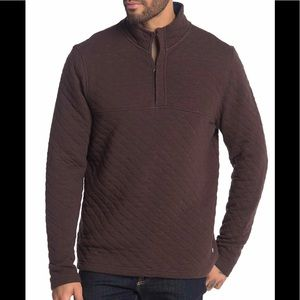 🌴TAILOR VINTAGE QUILTED 1/4 ZIP PULLOVER NWT